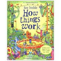 【限量现货】英文原版 See Inside How Things Work 看看内部:事物如何运作? 趣味知识 思维开