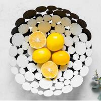 北欧茶几桌面装饰品客厅摆件餐桌托盘水果篮果盘零食盘收纳篮创意