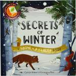 英文原版绘本 Shine A Light:Secrets of Winter 光影魔术 冬天动物大搜索 STEM动手操
