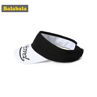 巴拉巴拉儿童帽子男潮夏装2019新款女童遮阳帽时尚格纹鸭舌帽