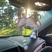 天使翅膀车挂汽车挂件扩香石吊坠车内吊饰装饰挂饰