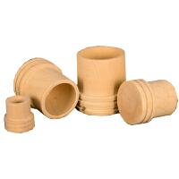 木制灭火器 艾炙器具艾灸条 适合18mm艾条 艾柱使用