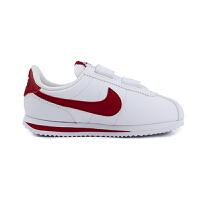 耐克(Nike)儿童鞋CORTEZ BASIC男女童运动鞋舒适轻便休闲鞋904767-101 白色