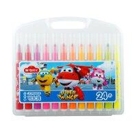 晨光水彩笔24色超级飞侠大头水彩笔