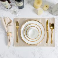 厨房餐桌餐具摆件现代西餐具套装餐具组合装饰品