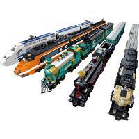 包邮哦高博乐和谐号电动火车系列带3米轨道拼装积木儿童益智玩具磁性