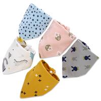 男女儿童围巾婴儿围嘴兜夏季薄款婴儿三角巾宝宝口水巾棉透气