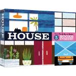英文原版 House First Words 纸板书 5本礼盒装 家 基础单词 家庭生活用品单词认知词典书 Chron