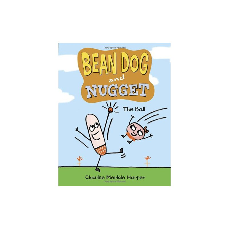 Bean Dog and Nugget: The Ball Charise Mericle Harper 9780307977076 全新正版进口图书