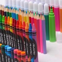 儿童水彩笔绘画套装礼盒可水洗画笔蜡笔幼儿园小学生美术用品 150支画笔套装