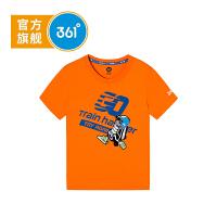 【下单立减】361度童装 男童T恤2019夏季新品中大童短袖上衣