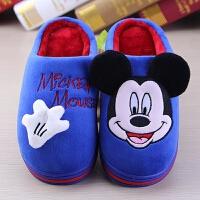 男童女童宝宝防滑小孩室内包跟秋冬儿童棉拖鞋