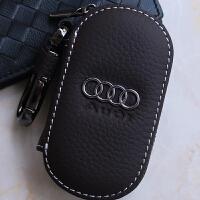 包男钥匙车用钥匙包真皮女士a4lq5a6ls3q7a5a8汽车q3钥匙套拉链