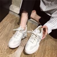 运动鞋女2019新款春秋季轻便跑步鞋韩版百搭学生运动跑步休闲鞋