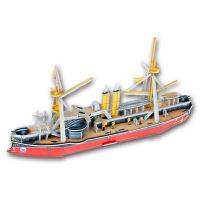 纸板拼插模型 3d立体拼图儿童玩具3-6-8岁男孩女孩diy手工纸质模型拼插拼图
