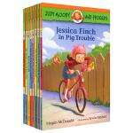Judy Moody and Friends 稀奇古怪小朱迪和她的伙伴们8册 儿童桥梁书初级英语章节书 友谊情商绘本