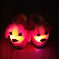 冬季宝宝棉鞋亮灯儿童鞋保暖卡通狗狗包跟防滑棉拖鞋女大童男童鞋