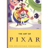 [现货]英文原版 Art of Pixar 100 Postcards 皮克斯经典明信片