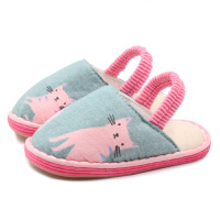 儿童拖鞋女童小孩可爱宝宝棉布家居鞋