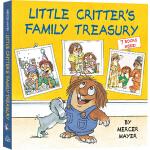 英文原版 Little Critter's Family Treasury 小毛人 圣诞礼物书 7故事合辑 儿童启蒙图