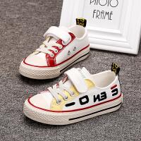 男童帆布鞋2019年新款夏季透气女童布鞋儿童板鞋潮童秋款单鞋