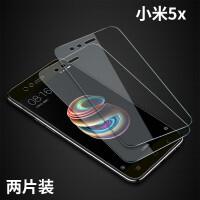 小米5x钢化膜5s小米9全屏PLAY覆盖5C无白边note3手机max3mix2s8蓝光六黑鲨游 小米5x新9D【全屏