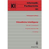【预订】Kunstliche Intelligenz: Gwai-88, 12. Jahrestagung Ering