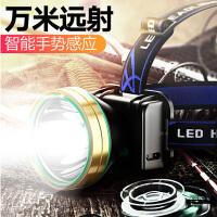 LED�^�舫潆�防水感���^戴式手�筒亮��~米小氙�獾V��3000