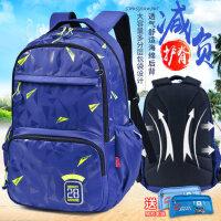 迪士尼男童小学生书包3-5三四六五双肩4-6年级休闲韩儿童米奇背包