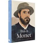 This is Monet 这是莫奈 英文原版 精装 This is这就是系列艺术家小传故事 大师作品画集 Laure