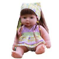 智能仿真婴儿玩具娃娃会说话宝宝洋娃娃软胶硅胶洗澡安抚陪睡娃娃