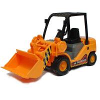 力利工程车小型铲车小号挖掘机迷你推土机 儿童玩具车男孩3-6周岁 小型推车机