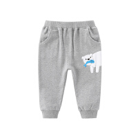 宝宝运动裤薄款夏婴儿春装长裤儿童休闲裤