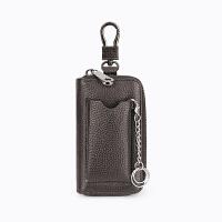 汽车钥匙包大容量拉链包男女士时尚腰挂锁匙包情侣潮卡包