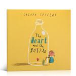 顺丰发货 英文原版The Heart and the Bottle 瓶子里的心名家绘本 Oliver Jeffers奥