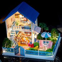 手工拼装房子微缩建筑模型生日礼物男女diy小屋来自星星的你