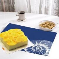 德国法克曼fackelmann 餐垫桌垫欧式西餐垫餐桌垫加厚隔热垫盘垫碗垫桌布垫4件装(颜色图案随机)5562981