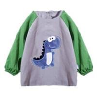 宝宝罩衣儿童春季反穿衣防水吃饭衣小孩幼儿园男女大码罩衫