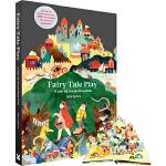 英文原版 Fairy Tale Play: A pop-up storytelling book 童话剧本剧场书 立体