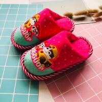 儿童棉拖鞋秋冬季男女童可爱卡通棉拖鞋毛毛鞋居家家居拖鞋小孩鞋