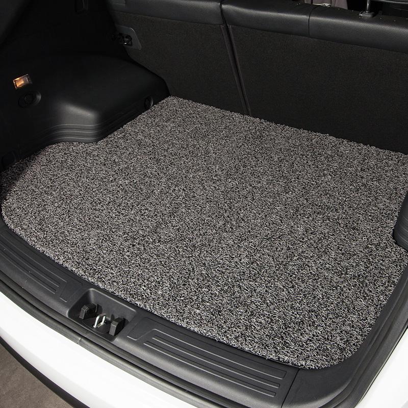 奥迪A4L Q7 Q3 A5尾箱垫宝马320li奔驰C200 E260汽车丝圈后备箱垫 下单请备注车型为您精确匹配或联系客服