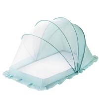 小孩儿童床无底通用可折叠婴儿床蚊帐宝宝蚊帐蚊罩蒙古包带支架