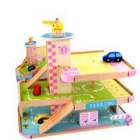 玩具停车库 儿童小汽车大型立体停车场车库玩具模型男孩拼装积木玩具礼物