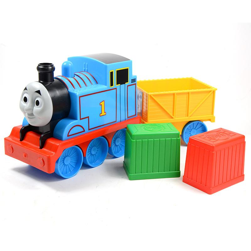 [当当自营]托马斯和朋友 学前系列 宝宝的第一个托马斯 早教启智玩具 BCX71【当当自营】美泰 费雪牌托马斯婴幼儿小车玩具