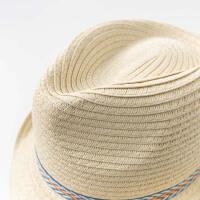 davebella戴维贝拉2020春新款男童遮阳帽宝宝巴拿马草帽DBX12622