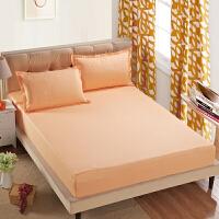 纯色席梦思保护套防尘罩床笠床罩床垫罩单件床套1.8m床 防滑床单