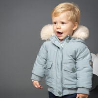 davebella戴维贝拉童装冬季新款男童宝宝90绒保暖羽绒服DB11991
