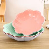 创意欧式家用水果盘客厅茶几塑料糖果盘干果盘办公室零食盘小果盘