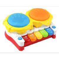 五星多功能故事琴机宝宝音乐手拍鼓婴儿玩具6个月-1岁儿童拍拍鼓