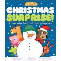 【预订】Jelly Bear Christmas Surprise 9781623702472